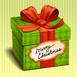 Royalty-Free Stock Vector Image: Christmas gift box