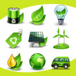 Ecology icons — Stock Vector #18463583