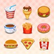 Food icons — Stock Vector #18463779