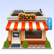 Shop icon — Vecteur #18467233
