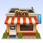 Shop icon — Stock Vector #18467233