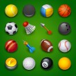 Sport icons — Stockvektor