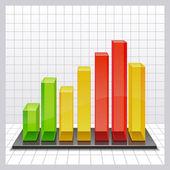 Gráfico — Vetor de Stock