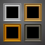 Frames — Stock Vector