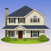 Icône de la maison — Vecteur