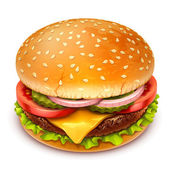 Hamburger icon — Stock Vector