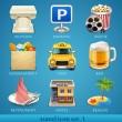 Travel icon set-1 — Stock Vector