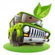 Vector de stock : Eco car