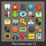 Vector flat icon — Stock Vector #36794255