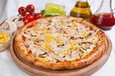 Pizza Chicken — Stock Photo