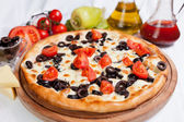Pizza Cherry — Stock Photo