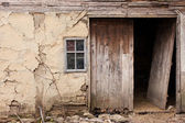 Abandoned old village house. High Details. — Stock Photo