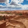 View from Kasbah Ait Benhaddou (Morroco) — Stock Photo