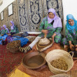 ESSAOUIRA, MOROCCO-FEBRUARY, 7: women working in cooperative f — Stock Photo #26317917