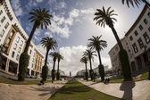 Mohammed V Avenue in Rabat, Morocco — Stock Photo