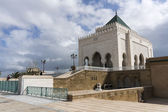 The Mausoleum of Mohammed V, a historical building located on th — Stock Photo