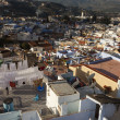 View of medina blue town Chefchaouen, Morocco — Stock Photo