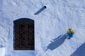 Architectural detail in Chefchaouen, Morocco, Africa — Stock Photo