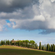 Landscape in Country side of Toscany, Italy — Stock Photo