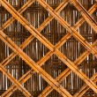 Bamboo brown straw mat as abstract texture background compositio — Stock Photo