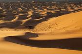 Berber camp in the Sahara desert, Morocco — Stock Photo