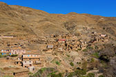 Traditional berber village in Atlas Mountain, Morocco, Africa — Stock Photo
