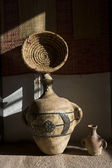 Traditional earthenware in Morocco, Africa — Foto de Stock
