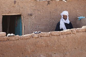 Documentary: Portrait of male muslim (of the nomadic people), Mo — Stock Photo