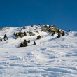 Winter Alpine scenery — Stock Photo