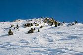 Winter Alpine scenery — Stock Photo