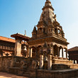 Temple on Bhaktapur — Stock Photo