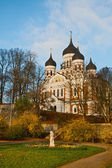 Alexander Nevsky Cathedral in Tallinn — Stock Photo