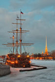 St.-Petersburg, winter landscape — Stock Photo