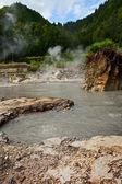 Geotérmicaarqueológico — Foto de Stock