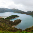 Lake Lagoa do Fogo - Stock Photo