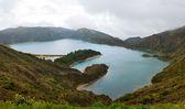 Lake Lagoa do Fogo — Stock Photo