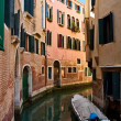 Narrow canal of Venice — Stock Photo