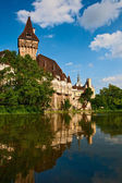 Vajdahunyad Castle — Stock Photo