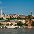 Budapest, view of the Buda castle — Stock Photo