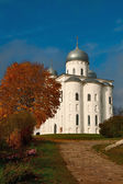 St George Cathedral in the Yuriev Monastery — Stock Photo