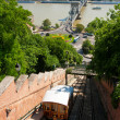 Stock Photo: Budapest Castle Hill Funicular