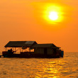 Stock Photo: Tonle Sap lake, Cambodia