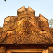 Stock Photo: Temple Banteay Srei, Cambodia