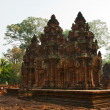 Ancient khmer temple — Stock Photo