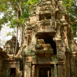 Stock Photo: Khmer temple TProhm