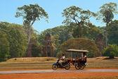Moto-carrito en camboya — Foto de Stock