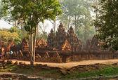 Khmer temple Banteay Srei — Stock Photo