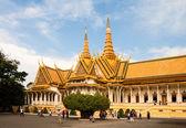 Palácio real de phnom penh, camboja — Fotografia Stock