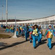 Stock Photo: Volunteers in Olympic Park