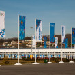 Sochi Olympic Park — Stock Photo